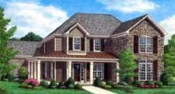 Country Style House Plans Plan: 86-142