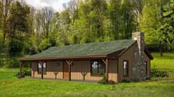 Ranch Style Home Design Plan: 87-120