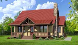 Country Style House Plans Plan: 87-121