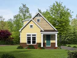 Southern Style Home Design Plan: 87-131