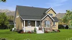 Country Style House Plans Plan: 87-134