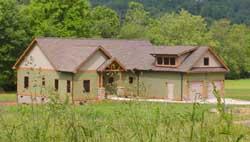 Craftsman Style Home Design Plan: 87-146