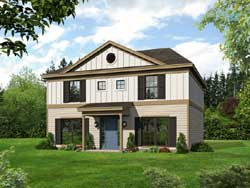 Traditional Style House Plans Plan: 87-167