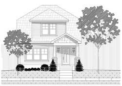 Craftsman Style Floor Plans Plan: 87-176