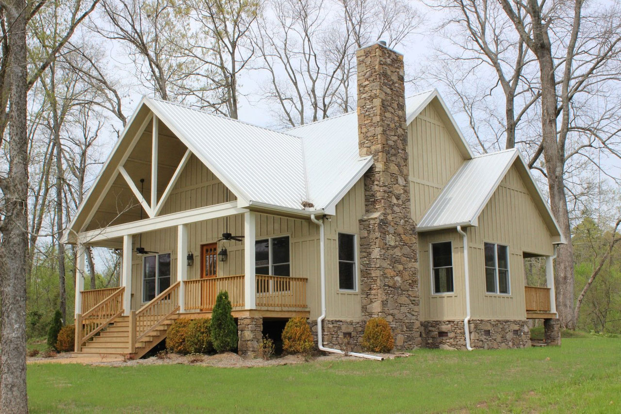 Country Style Home Design Plan: 87-179