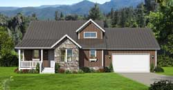 Country Style House Plans Plan: 87-190