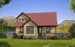 Traditional Style Floor Plans Plan: 87-191