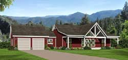 Ranch Style House Plans Plan: 87-203