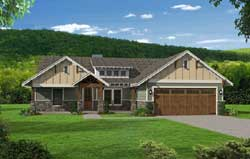 Craftsman Style Floor Plans Plan: 87-214