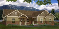 Craftsman Style House Plans Plan: 87-216