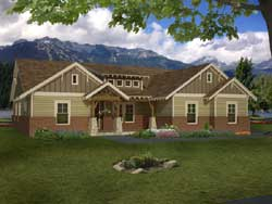 Craftsman Style Floor Plans Plan: 87-217