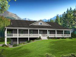 Ranch Style Floor Plans Plan: 87-219