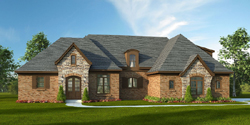 French-Country Style House Plans Plan: 87-220