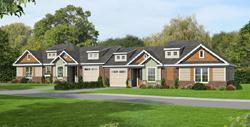 Bungalow Style House Plans Plan: 87-222