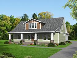 Craftsman Style Floor Plans Plan: 87-223