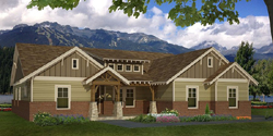 Craftsman Style Floor Plans Plan: 87-226