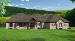 Traditional Style Floor Plans Plan: 87-233