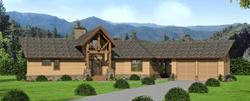Ranch Style Floor Plans Plan: 87-236