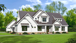 Modern-Farmhouse Style House Plans 87-240