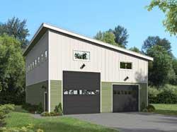 Modern Style Floor Plans Plan: 87-264
