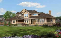 Craftsman Style Floor Plans 88-101