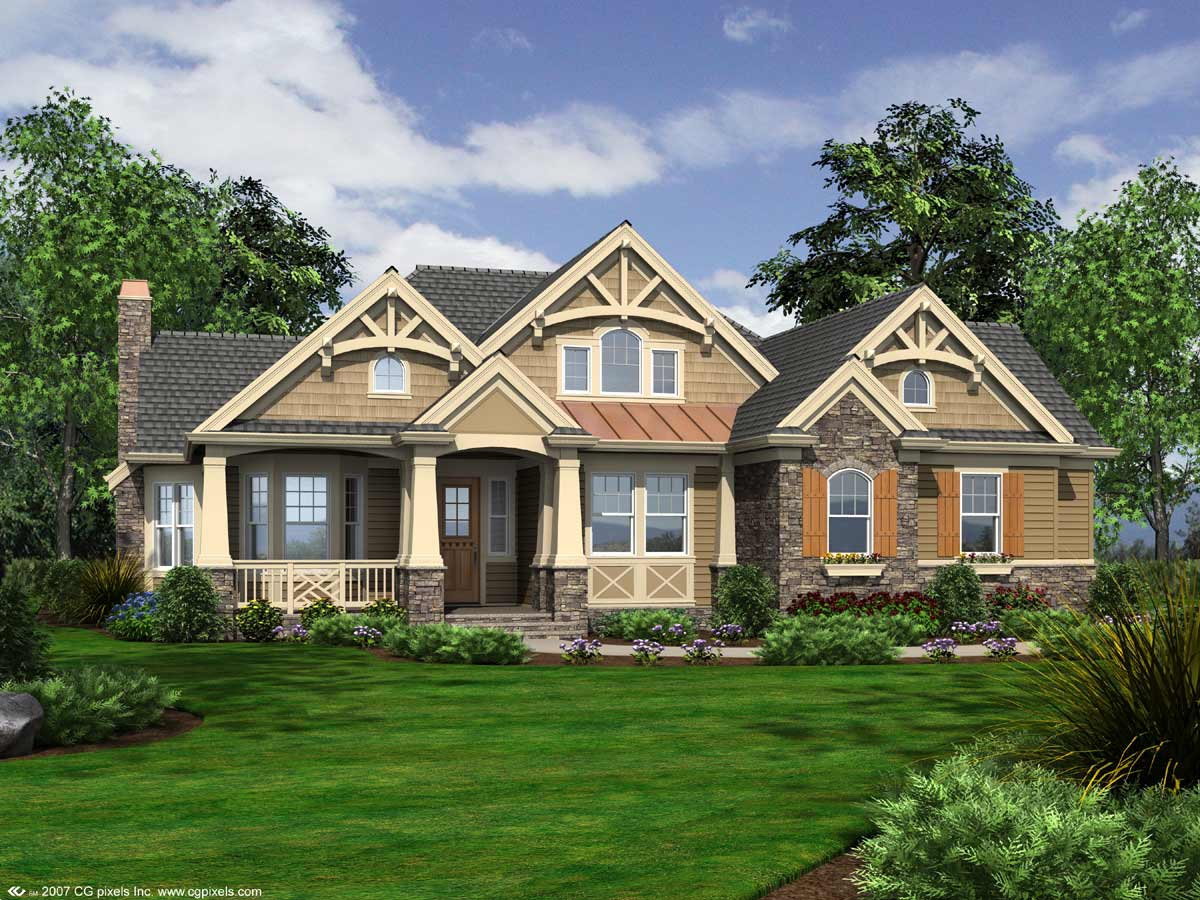 Cottage Style House Plans Plan: 88-102
