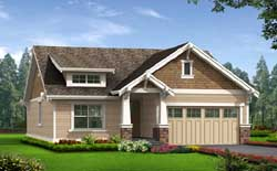Bungalow Style House Plans 88-105