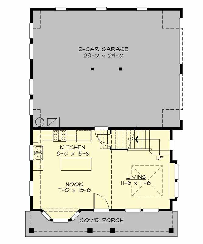 Main Floor Plan: 88-110