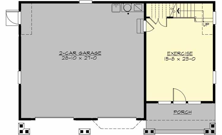 Main Floor Plan: 88-111