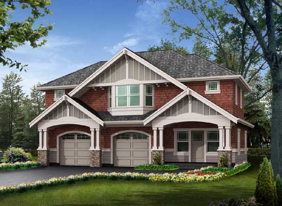 Craftsman Style Floor Plans Plan: 88-111