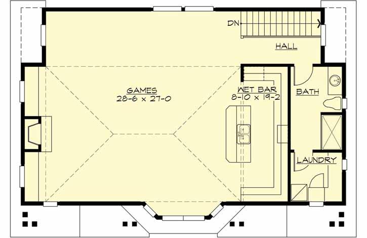 Upper/Second Floor Plan: 88-111