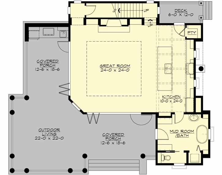 Main Floor Plan: 88-113