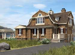 Hampton Style House Plans Plan: 88-113