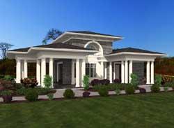 Shingle Style House Plans Plan: 88-122