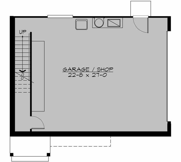 Lower Floor Plan: 88-123