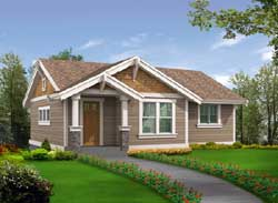 Craftsman Style Floor Plans Plan: 88-123