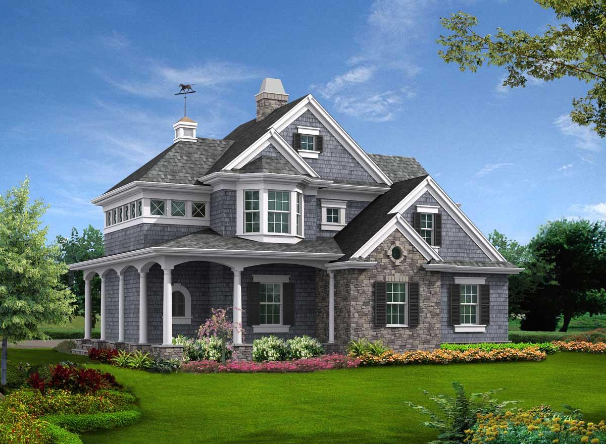 Shingle House Plan 1 Bedrooms 1 Bath 825 Sq Ft Plan 88 127