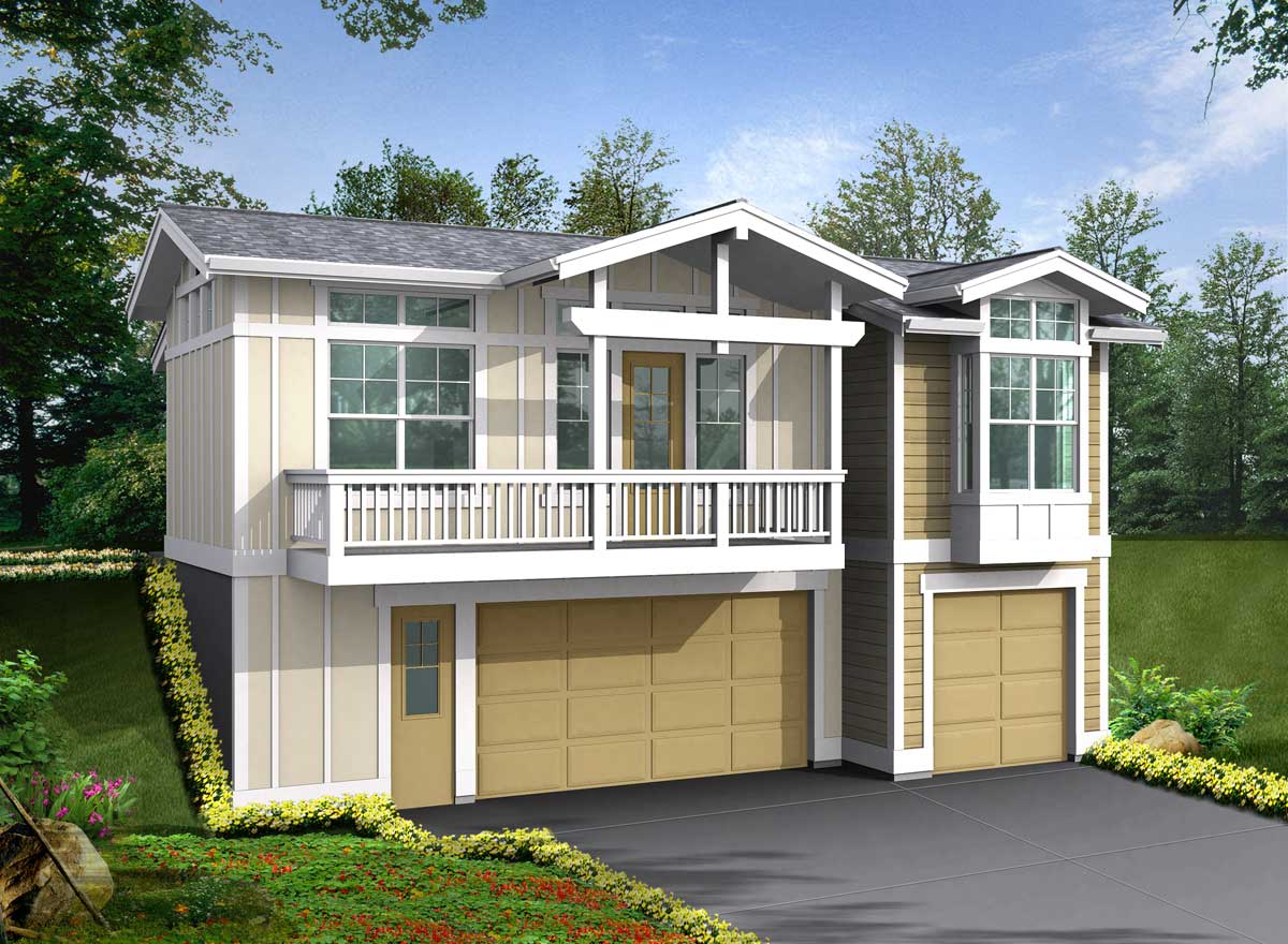 Cottage Style House Plans Plan: 88-128