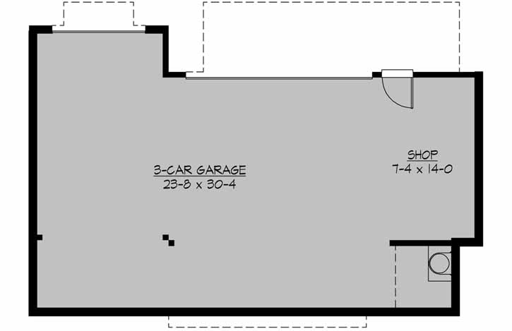 Lower Floor Plan: 88-128