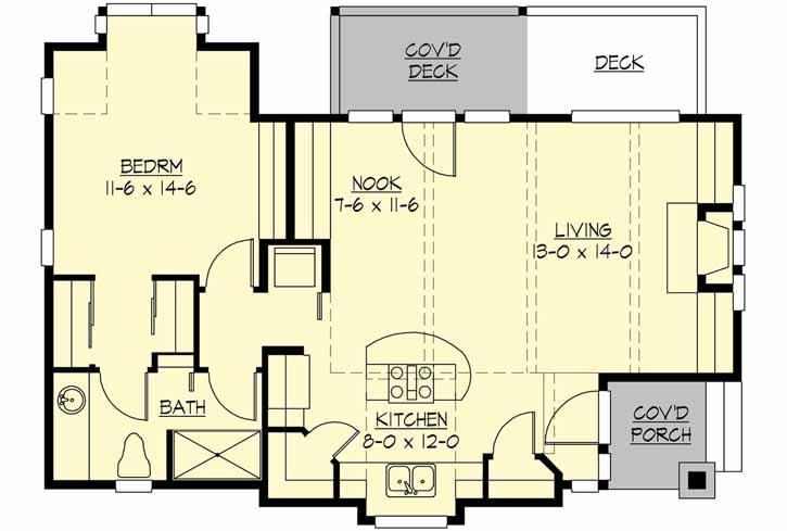 Main Floor Plan: 88-128