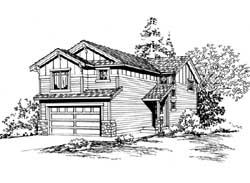 Craftsman Style House Plans Plan: 88-143
