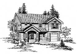 Craftsman Style House Plans Plan: 88-155