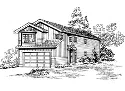 Northwest Style House Plans Plan: 88-156