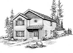 Craftsman Style Floor Plans Plan: 88-158