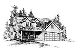 Farm Style Floor Plans Plan: 88-164
