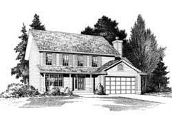 Farm Style House Plans Plan: 88-167