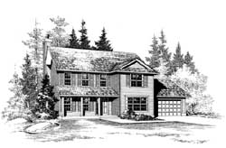 Country Style Floor Plans Plan: 88-173