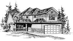Craftsman Style Floor Plans Plan: 88-177