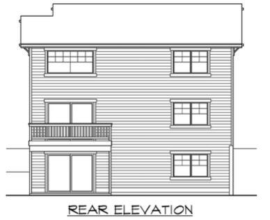 Rear Elevations Plan:88-186