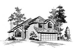 Northwest Style House Plans Plan: 88-188